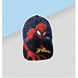 Chlapčenská šiltovka spiderman - tmavomodrá