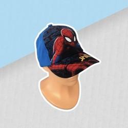 Chlapčenská šiltovka spiderman - modrá