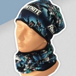 Prechodný komplet Fortnite - čiapka s nákrčníkom
