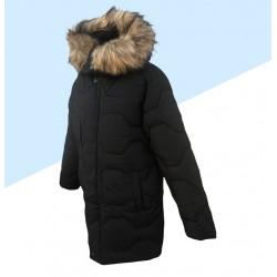 Zimná chlapčenská bunda - čierna
