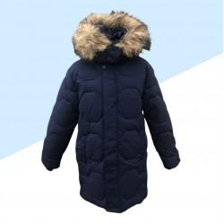Zimná chlapčenská bunda - modrá