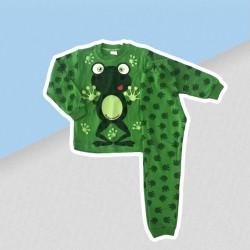 Chlapčenské pyžamo zelená žabka