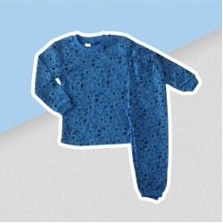 Chlapčenské pyžamo modrý psík Snoopy