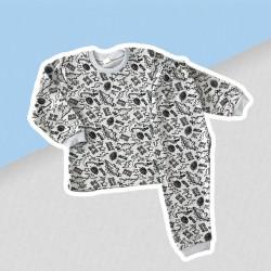 Chlapčenské pyžamo dinosaury