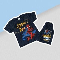 Modrá letná súprava spiderman