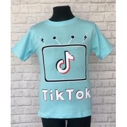 Modré chlapčenské tričko TIK-TOK