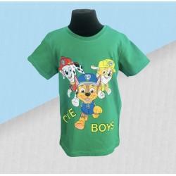 Chlapčenské tričko Paw patrol - zelené