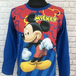 Modré tričko Mickey Mouse