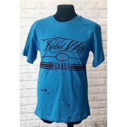 Chlapčenské modré tričko rebel