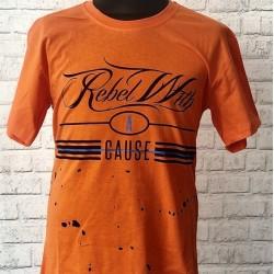 Chlapčenské oranžové tričko rebel