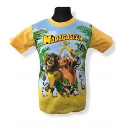 Žlté tričko Madagaskar