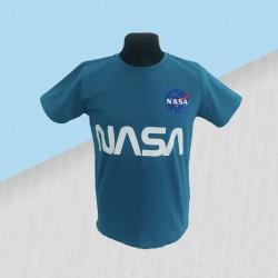 Modré tričko NASA
