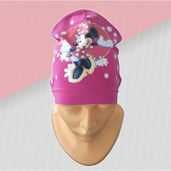 Dievčenská čiapka Minnie