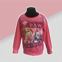 Ružová dievčenská mikina patrol