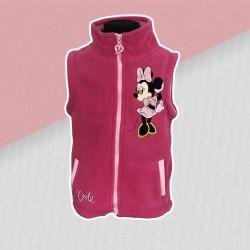 Bordová vesta Minnie