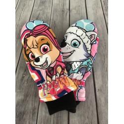 Dievčenské detské rukavice Paw Patrol