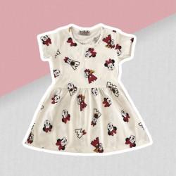 Biele šaty s Minnie