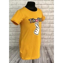 Žltá tunika TIK-TOK