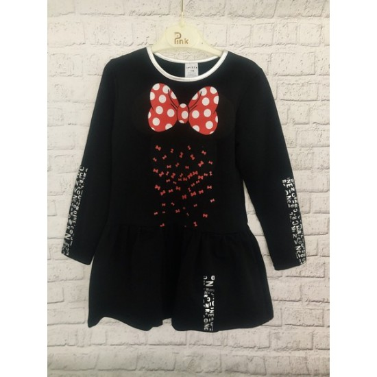Čierne šaty Minnie