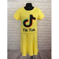 Žlté šaty tik tok
