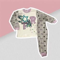Dievčenské pyžamo hviezdička