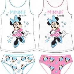 Dievčenská spodná bielizeň Minnie - modrá