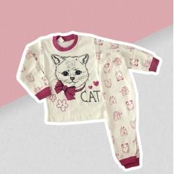 Dievčenské pyžamo mačička