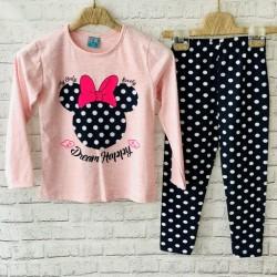 Ružové pyžamo Minnie