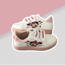 Dievčenské tenisky Minnie - biele