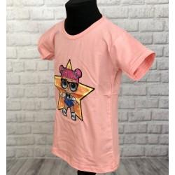 Dievčenské bavlnené tričko LOL