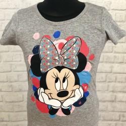 Sivé tričko s krátkym rukávom s Minnie