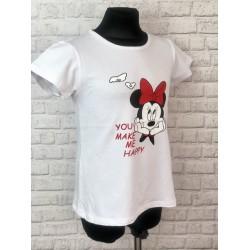 Biele tričko Minnie
