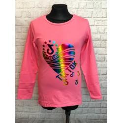 Ružové tričko TIK-TOK