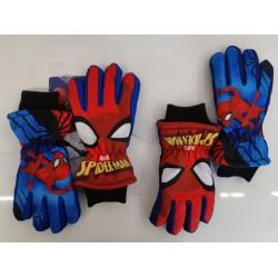 Chlapčenské lyžiarske rukavice spiderman
