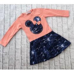 Marhuľové šaty s Minnie